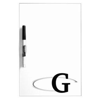 G Ring Dry Erase Board