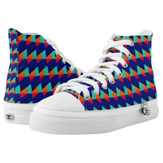 G Square Printed Shoes