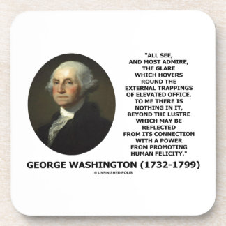 G. Washington External Trappings Elevated Office Coaster