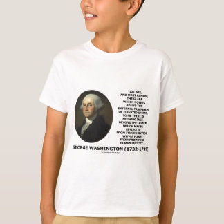 G. Washington External Trappings Elevated Office T-Shirt