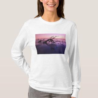 GA Jekyll Island, Tree graveyard on  beach at T-Shirt