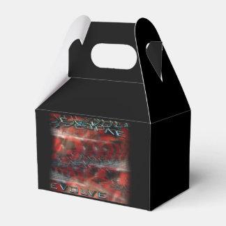 Gable Favor Box EVOLVE TEXT GRAPHIC