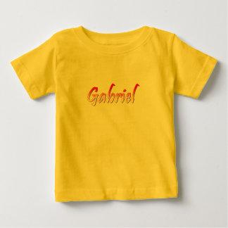 Gabriel yellow short sleeve apparel baby T-Shirt