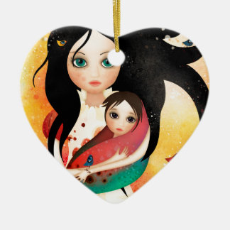 Gabriel's Mother Christmas Ornament