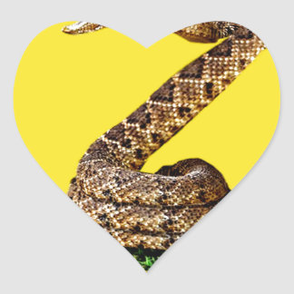 Gadsden Flag Full Heart Sticker
