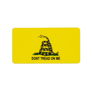 Gadsden Flag Label