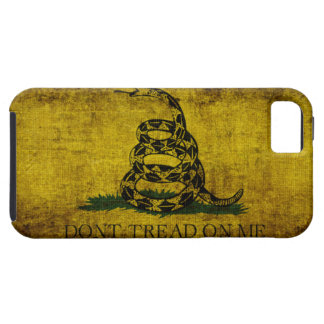 Gadsden Flag Tough iPhone 5 Case