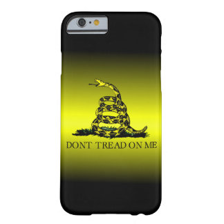 Gadsden Flag Yellow and Black Fade Barely There iPhone 6 Case
