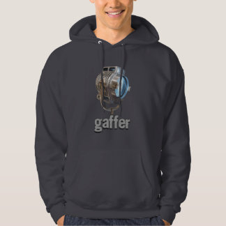 GAFFER retro design with classing lamp hoodie