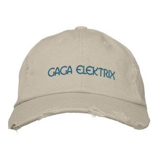 GAGA ELEKTRIX EMBROIDERED HAT