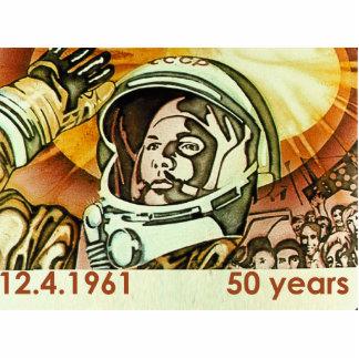 Gagarin Poster Acryl Ausschnitte