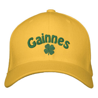 Gainnes  - Four Leaf Clover Embroidered Hat