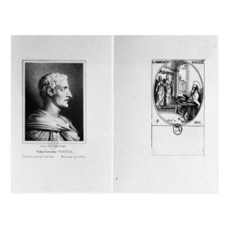 Gaius Cornelius Tacitus  engraved by Julien Postcard