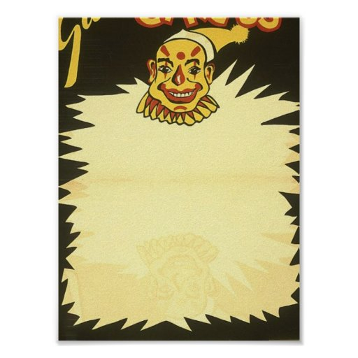 Gala puppet circus Clowns Posters