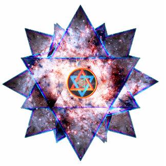 Galactic Merkaba Photo Cutout