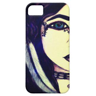 Galaxies in Her Eyes iPhone 5 Case