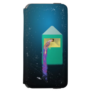 Galaxy Box Digital Abstract Art Incipio Watson™ iPhone 6 Wallet Case