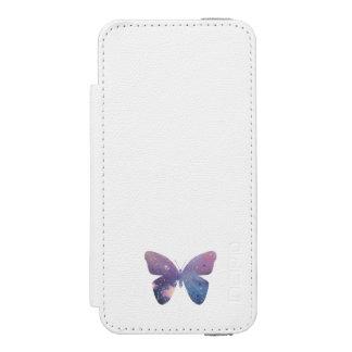 Galaxy Butterfly Incipio Watson™ iPhone 5 Wallet Case