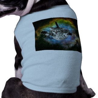 Galaxy Cat Universe Kitten Launch Shirt