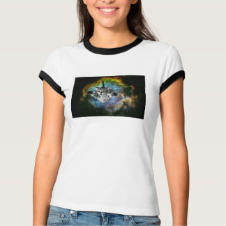 Galaxy Cat Universe Kitten Launch T-Shirt