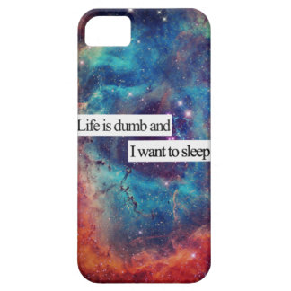 Galaxy Life is dumb and i want to sleep iPhone 5 Cases