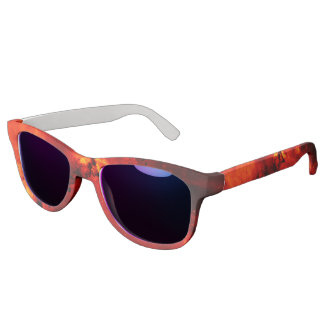 Galaxy On Fire Sunglasses