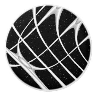Galaxy Space Design Ceramic Knob