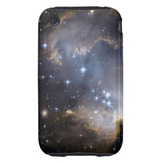 Galaxy Star Clusters Outerspace Atmosphere iPhone 3 Tough Cases
