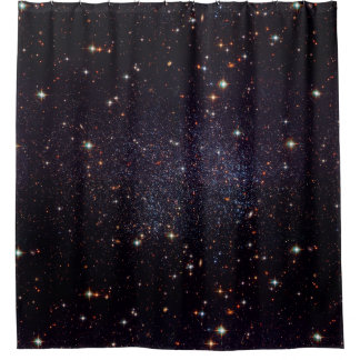 Galaxy Stars Space Shower Curtain
