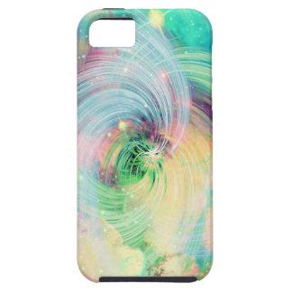 Galaxy Swirls Print iPhone 5 Case