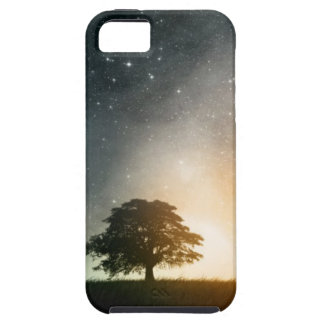 Galaxy tree iPhone 5 case