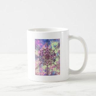 Galaxy Tree Mandala Coffee Mug