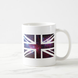Galaxy Union Jack British(UK) Flag Coffee Mug