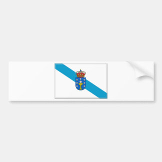 Galicia (Spain) Flag Bumper Sticker