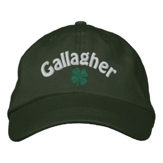 Gallagher  - Four Leaf Clover Embroidered Hat