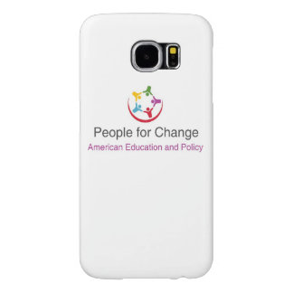 Gallaxay 6 Cell phone case with People for Change