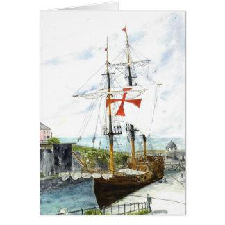 'Galleon' Card
