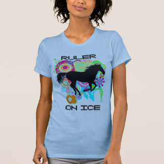 Galloping horse silhouette - RULER ON ICE Shirt