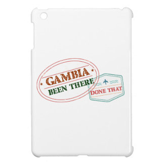 Gambia Been There Done That iPad Mini Case