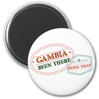 Gambia Been There Done That Magnet