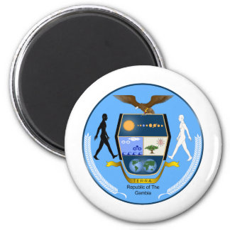 Gambia Coat of arms GM Magnet