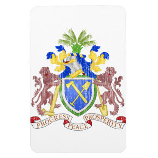 Gambia Coat Of Arms Magnet