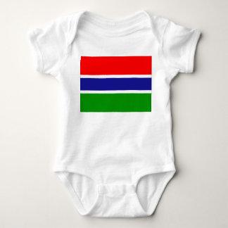 Gambia Flag Baby Bodysuit