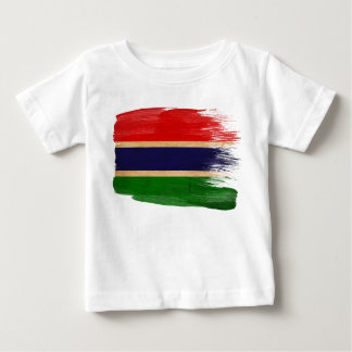 Gambia Flag Baby T-Shirt