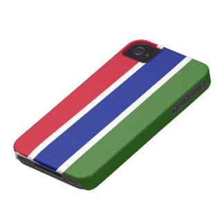 Gambia Flag Case-Mate iPhone 4 Case