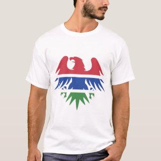 Gambia Flag Eagle T-Shirt