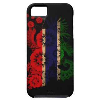 Gambia Flag iPhone 5 Covers