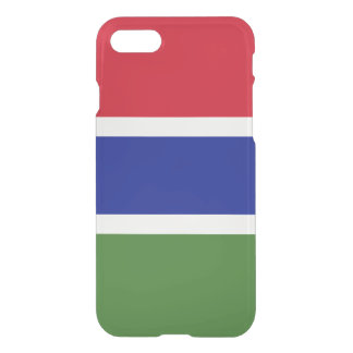 Gambia Flag iPhone 8/7 Case