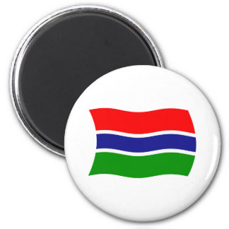 Gambia Flag Magnet