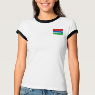 Gambia Flag + Map T-Shirt